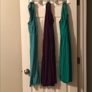 Bundle of three cotton dresses